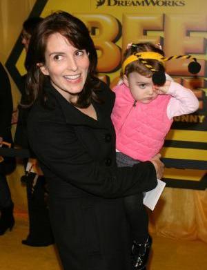 Tina Fey's daughter plays Liz Lemon's