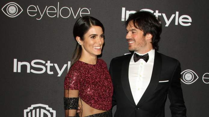 Nikki Reed & Ian Somerhalder Give