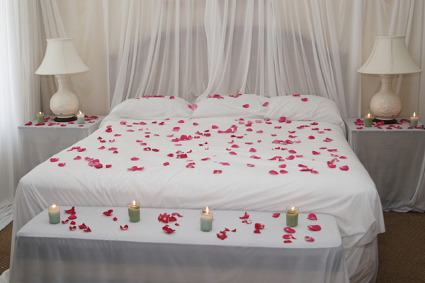 Valentine's bedroom on a budget