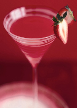 Blood Berry Martini