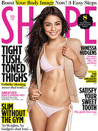 Vanessa Hudgens on Shape magazine
