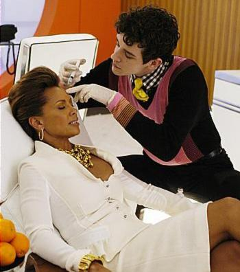Vanessa Williams even got a Botox shot on Ugly Betty