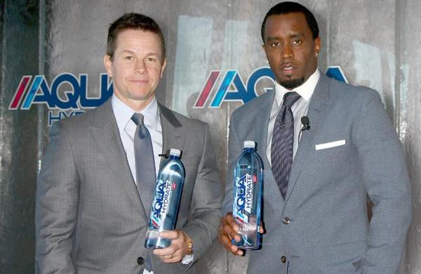 Sean Combs and Mark Wahlberg for