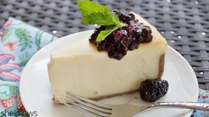 Creamy vegan cheesecake you'd never guess