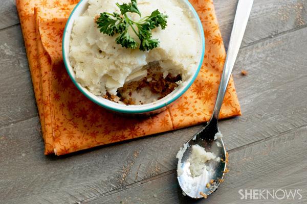 Vegetarian style Sheppard's pie recipe