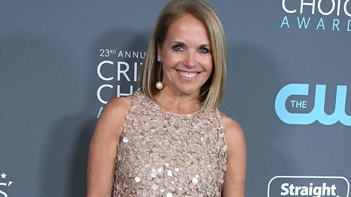 Katie Couric Opens Up About 'Crushing'