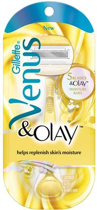 new Gillette Venus and Olay razor