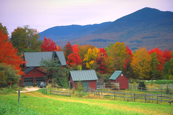 Vermont in Fall