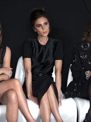 Victoria Beckham at Fashion Week