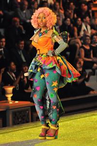 Nicki Minaj at the Victoria Secret Fashion Show