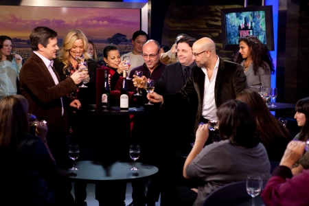 Stanley Tucci and his Vine Talk friends indulge