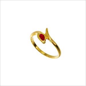Susan Caplan vintage snake ring