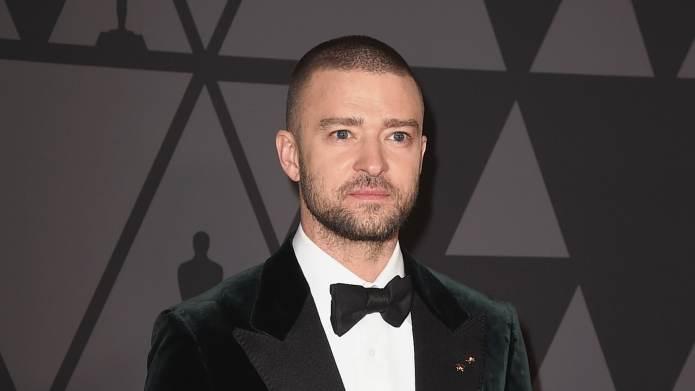 Justin Timberlake & His Son Silas