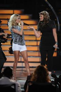 Carrie Underwood's secret message to Lauren