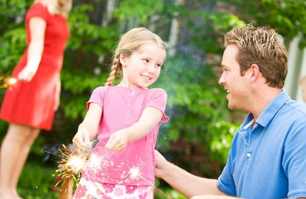 Firework and outdoor safety tips for