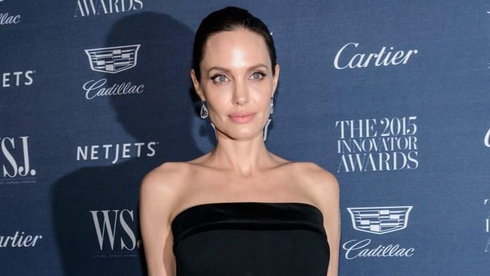 Angelina Jolie finally addresses that nasty