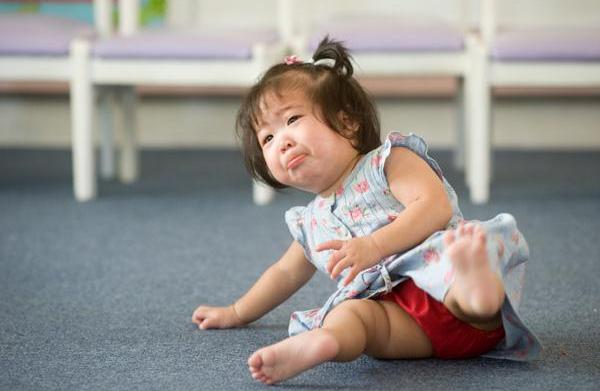 The accident-prone toddler