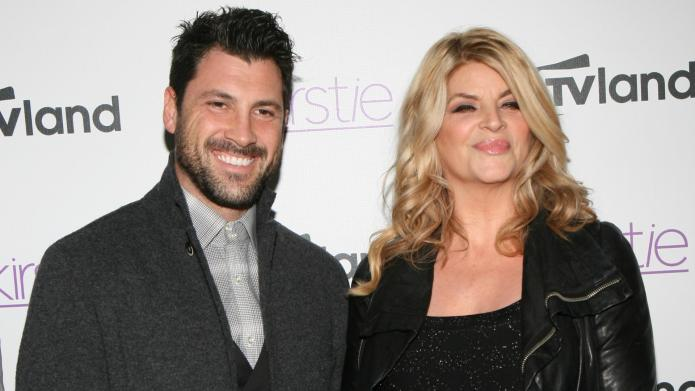 Kirstie Alley renews feud with Maksim