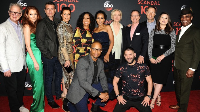 The Cast of Scandal Documented the
