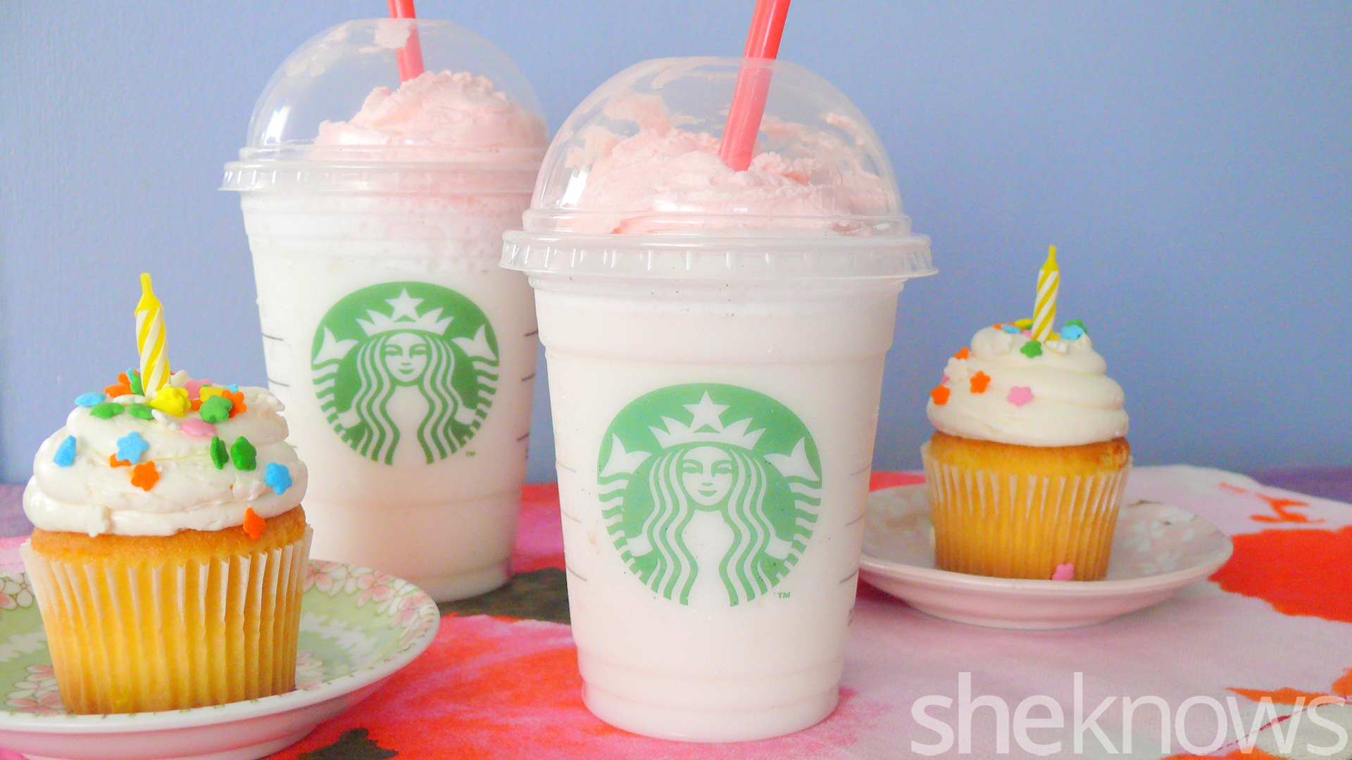Starbucks Birthday Cake Frappuccino We Tried It Is Worth