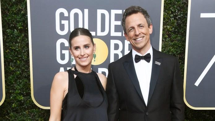 Seth Meyers & Wife Alexi Ashe