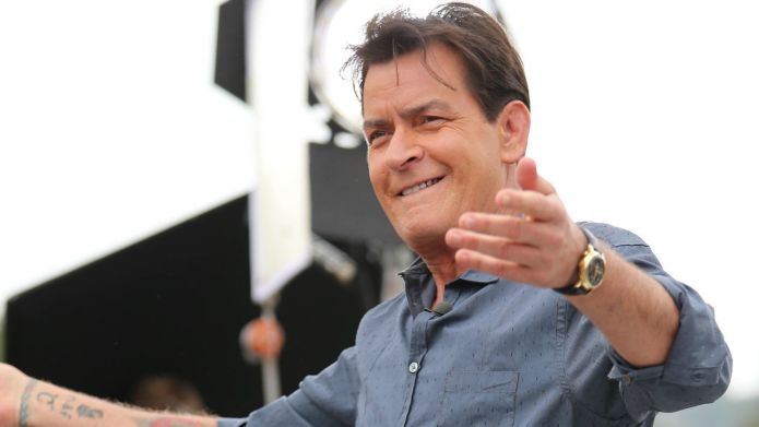 Charlie Sheen sets his sights on