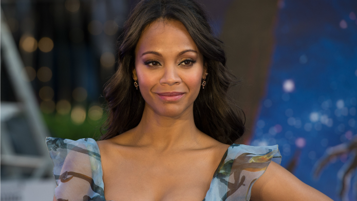 Zoe Saldana stands up for Crossroads