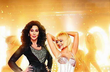 Cher and Christina Aguilera: Burlesque's glam