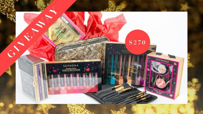 Today's Giveaway! A jaw-dropping Sephora gift