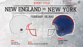 2012 Super Bowl party decorations