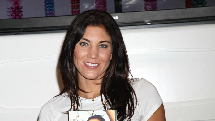 Hope Solo says her name will