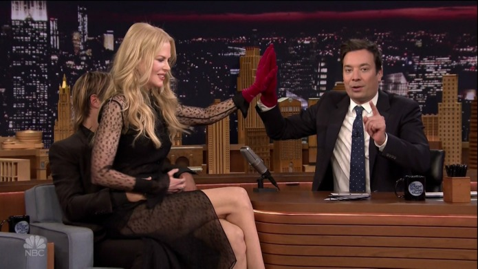 Nicole Kidman's return to The Tonight