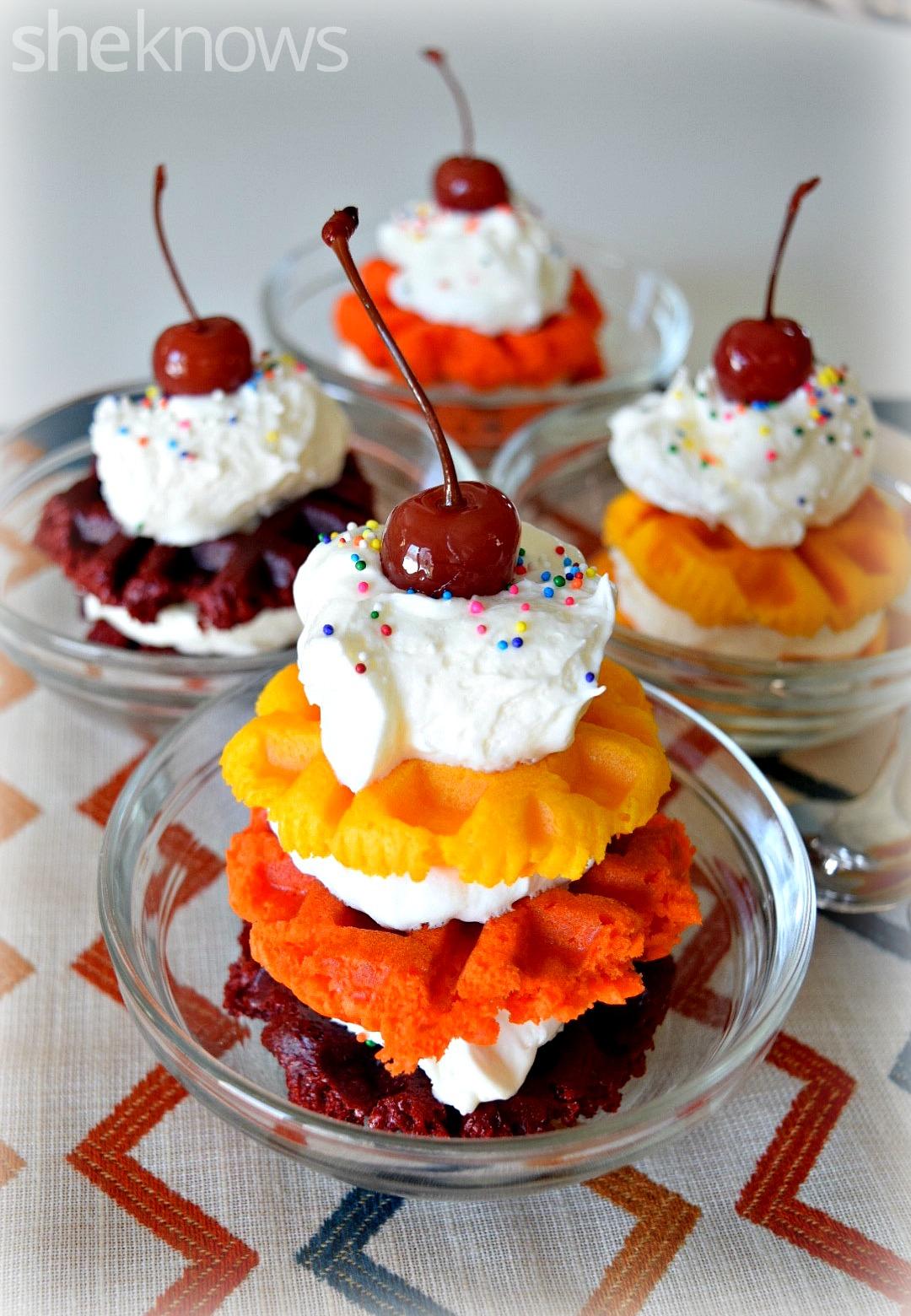 waffle cupcake 3