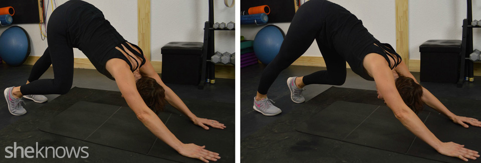 Walk the dog, active stretching