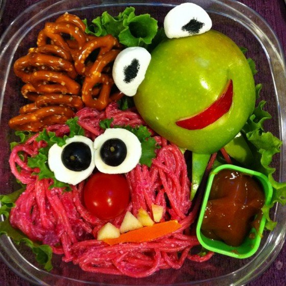 The Muppets inspired school lunch for kids