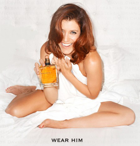 kate walsh with her boyfriend fragrance perfume