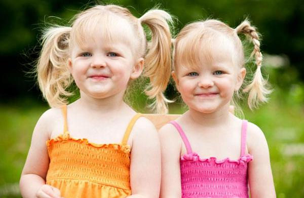 Top twin girl names of 2012