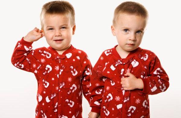 Matching Christmas pajamas for the entire