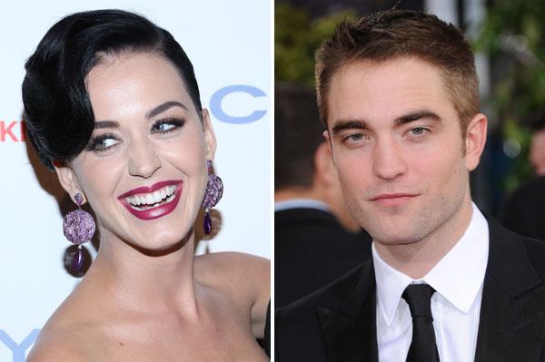 Katy Perry and Robert Pattinson