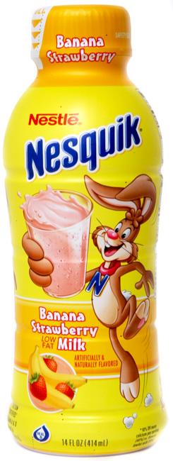 Banana Strawberry Milk