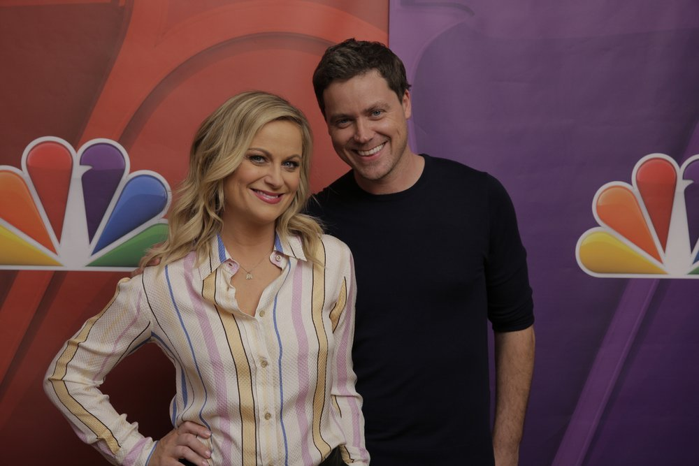 Amy Poehler and Greg Poehler from Welcome to Sweden