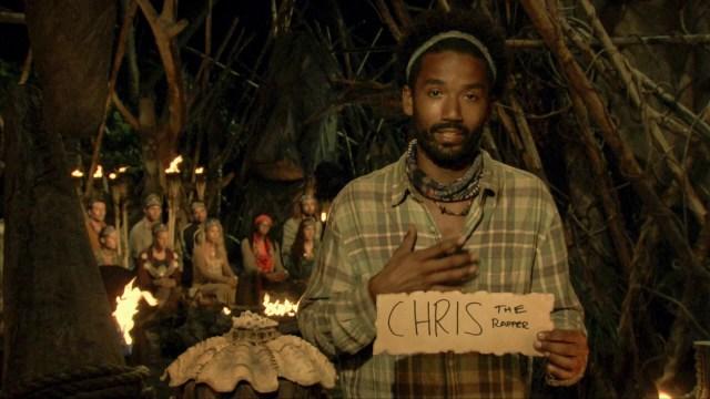 Wendell Holland votes against Chris Noble on Survivor: Ghost Island