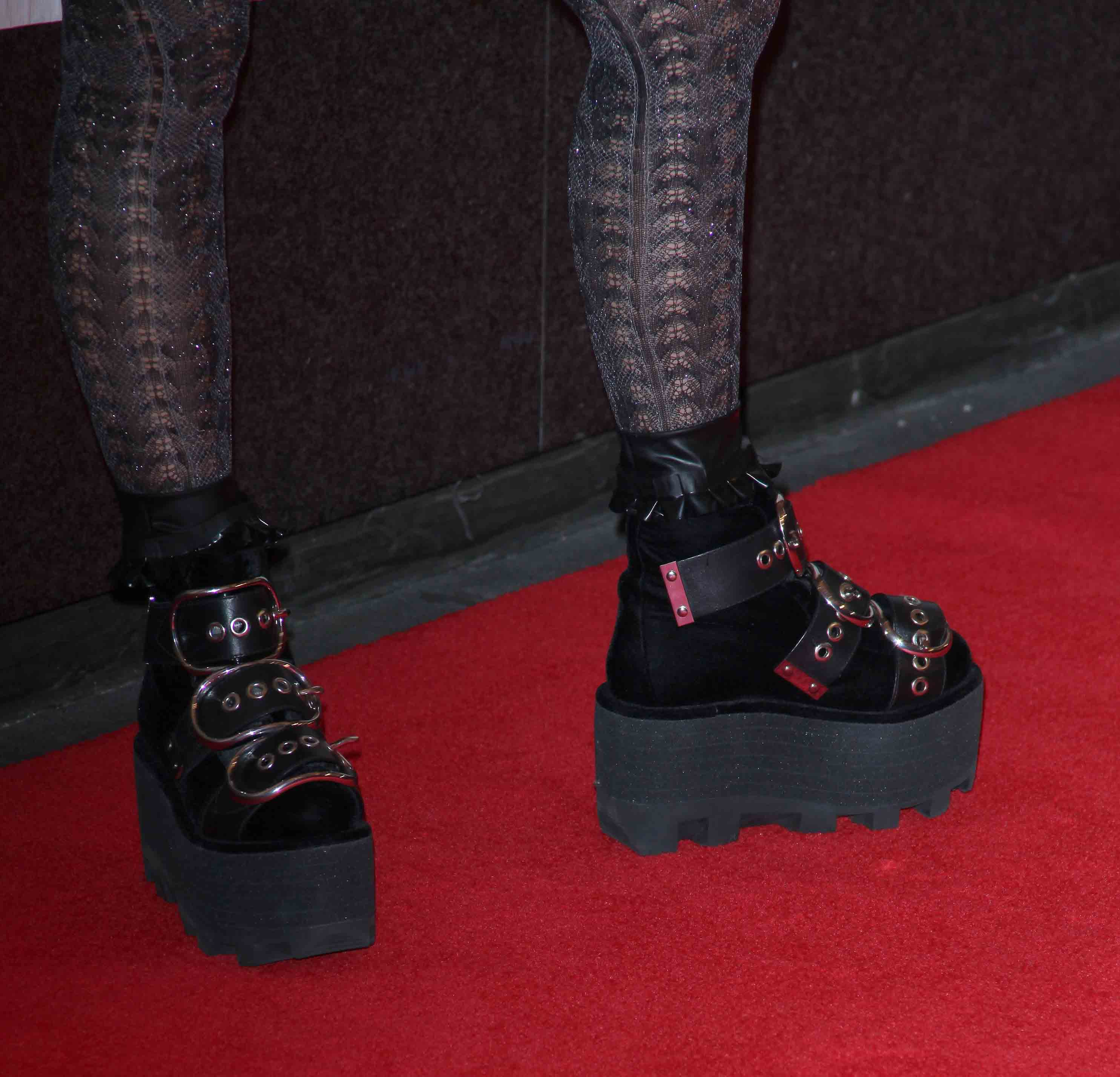 Lady gaga's platform shoes