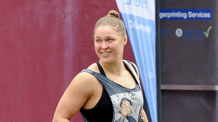 Ronda Rousey is turning a celeb's