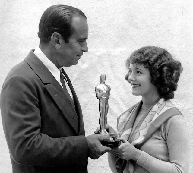 Janet Gaynor wins first Oscar for Best Actress