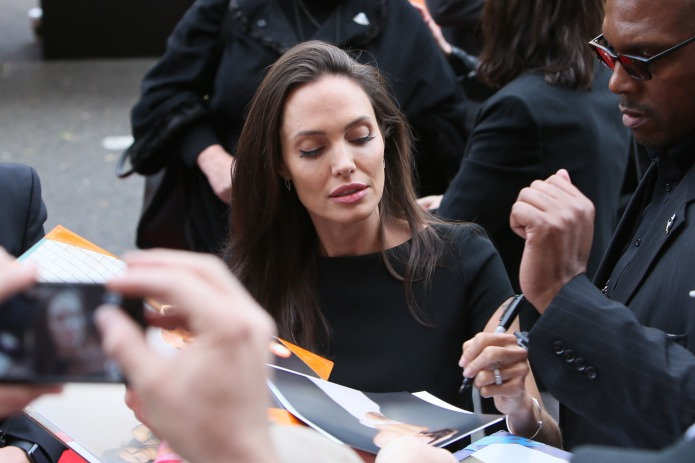 Angelina Jolie Fights for Young &