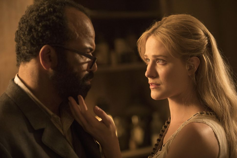 Westworld's Bernard and Dolores