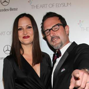 David Arquette and Christina McLarty welcome