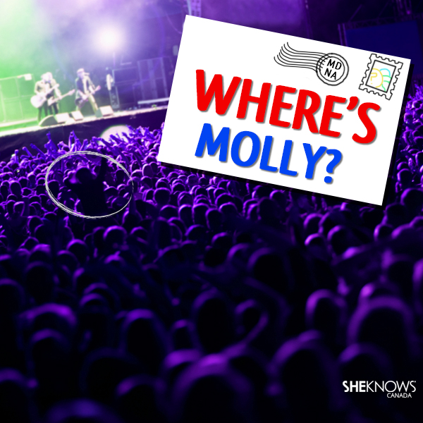 Where's Molly? game by SheKnows