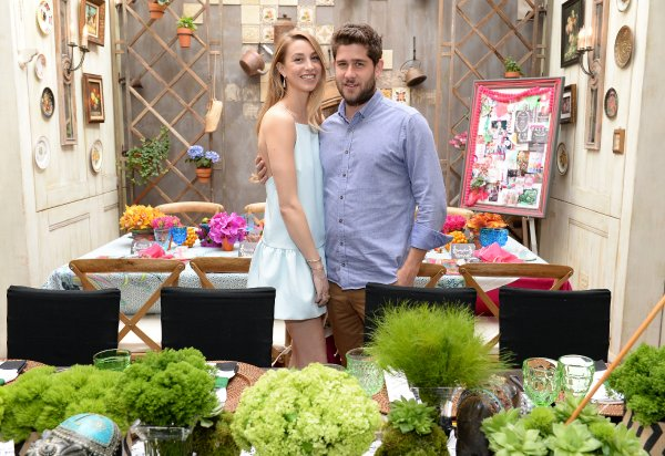 Whitney Port with fiancé Tim Rosenman